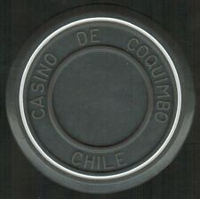 Chile Casino Chip- Casino de Coquimbo - valueless - roulette gris/blanco