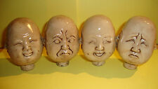 walking stick /cane/handle/BUDDHA/ four faced expressions