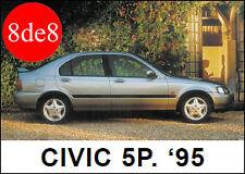 Honda Civic (1995) 5P - Manual de taller en CD