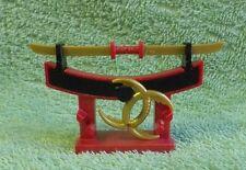 PLAYMOBIL accessoire KNIGHTS porte arme dragon chateau katana samourai asie 5493