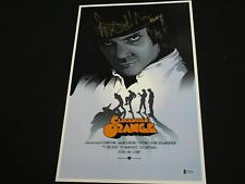 MALCOLM McDowell Signed Clockwork Orange 11x17 Movie Poster Autograph BAS COA