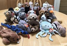 Vintage Lot of 25 Ty Retired Beanie Babies ALL NEW w/tag ERRORS no duplicates