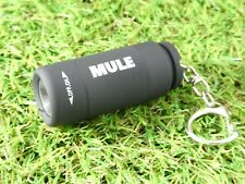 MULE Black USB Rechargeable water resistant inspection torch key-ring EDC