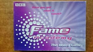 Fame Academy Board Game By Endemol UK 2002