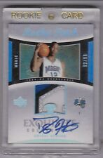 2004-05 UD EXQUISITE COLLECTION # 90 DWIGHT HOWARD ROOKIE PATCH RC AUTO 92/99