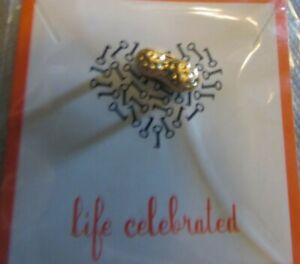 """KEEP Collective """"Gold Peanut Charm""""- NEW With Tags"""