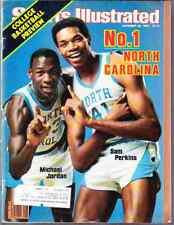 November 28, 1983 Michael Jordan UNC Tar Heels First Sports Illustrated