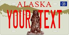 Alaska 1976 License Plates Tag Personalized Auto Car Custom VEHICLE OR MOPED