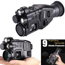 Digitales Nachtsichtgerät Zielfernrohr Videoaufnahme Jagdkamera 940nm Lase IR