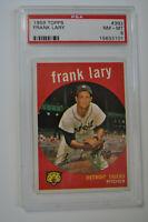 1959 Topps - Frank Lary - #393 - PSA 8 - NM-MT