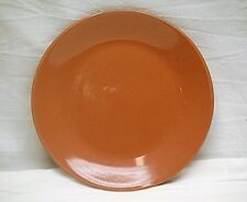 "Vintage Ceramic Pink Mauve 7-1/2"" Salad Plate Dinnerware Unknown Maker"
