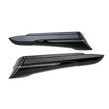 Ciro Black Saddlebag Extensions For Harley- 40001