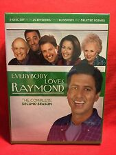 Everybody Loves Raymond - The Complete Second Season (DVD, 2004, 5-Disc Set) NEW