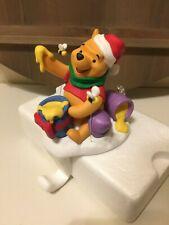 Hallmark Christmas Disney Winnie the Pooh Figure Stocking Hanger Holder