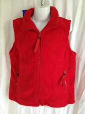 BNWT Boys or Girls Sz 12 LW Reid Brand Red Sleeveless Polar Fleece School Vest