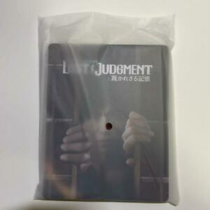 PS4 Lost Judgement Steelbook Only No game GEO Japan Limited Rare