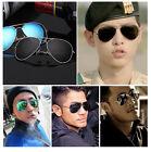 Fashion Unisex Vintage Retro Women Men Glasses Aviator Mirror Lens Sunglasses