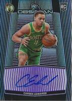 2019-20 Panini Obsidian Rookie Auto Electric Etch Purple Carsen Edwards Auto/75