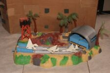 Extremely Rare! 1965 IDEAL Battle Action Jet Air Strip w/BOX! 4864-5