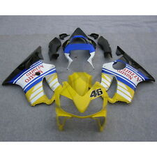Verkleidung Lacksatz Blau Gelb Fairing Bodywork Für Honda CBR600F4I 2001-2003