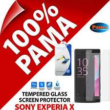 Pama Tempered Glass Screen Protector Rounded Edge Guard Film for Sony Xperia X