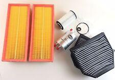 Ölfilter 2 x Luftfilter 2 x Aktivkohlefilter Kraftstoff SL R230 280 300 350 500