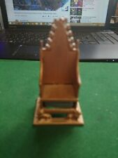 BRITAINS VINTAGE CORONATION  THRONE WITH STONE OF SCONE 1:32 SCALE