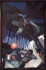 Stan and Vince Batman Print Poster Dark Knight Mondo Artist