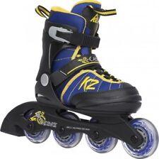 Rollers et patins jaunes K2