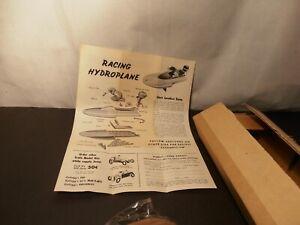 Kellogg's Outboard Hydro Plane