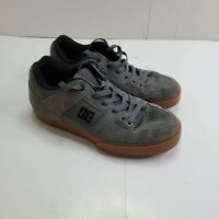 DC Pure Mens Size 7 Skateboarding Shoes Grey/Brown 300660