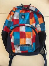 Quiksilver Multicolored Checkered Backpack