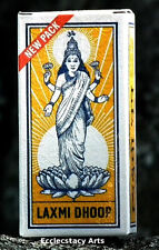 Laxmi Incense Dhoop 8 Pack x 8, 64 Dhoops Total by Mysore Sugandhi NEW {:-)