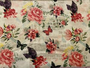 6 Tula Rosa Fat Quarters FQ Edredón de tela de algodón de 18 X 22