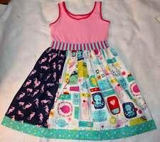 NEW Kpea Girl's Under The Sea Sabrina Tank Dress 10 12 Yrs.