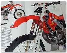 AMA MAGAZINE W MOTOCROSS RICKY CARMICHAEL'S 03 HONDA CR250R HONDA CB360 ON COVER