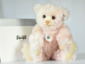 Steiff 408731 Rose Pink 1925 Replica Teddy Bear Limited Edition COA & Boxed