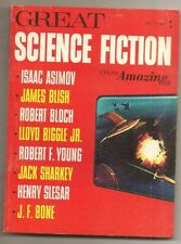 """GREAT SCIENCE FICTION FROM AMAZING #1, 1965 Isaac Asimov """"Playboy & Slime God"""""""