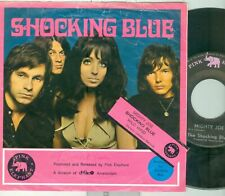 SHOCKING BLUE - MIGHTY JOE ( DUTCH 7'PS) COMES WITH RARE PINK EL. JUKEBOX CARD