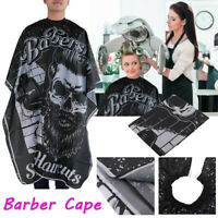 Waterproof Cutting Hair Haircut Salon Barber Cape Hairdressing Apron Wrap Gown