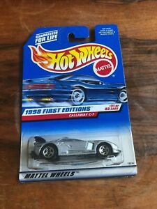 Callaway C-7 1st Edition Hot Wheels Car No.677 1998