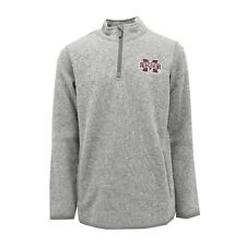 Mississippi State Bulldogs Official NCAA Size Quarter Zip Polyester Jacket New