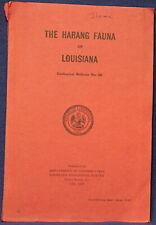 Louisiana Harang Fauna - Classic With Photos - Foraminifera of Miocene Gulf 1948