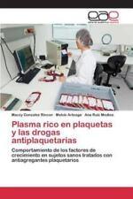 Plasma Rico En Plaquetas y Las Drogas Antiplaquetarias (Paperback or Softback)