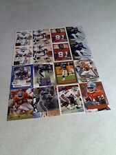 Shannon Sharpe:  Lot of 125 cards.....68 DIFFERENT  / Football