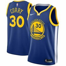 Nike Golden State Warriors Stephen Curry Icon Edition Authentic Jersey Size 48