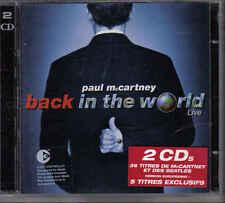Paul McCartney-Back In The World 2 cd album