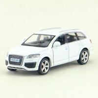 1:36 Audi Q7 V12 SUV Die Cast Modellauto Auto Spielzeug Model Sammlung Weiß