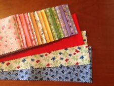 1930'S - 20 STRIPS OF QUILTING FABRIC IN A ROLL - ST112