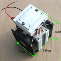Thermoelectric Peltier Refrigeration  Water Cooling System Cooler fan TEC1-12715
